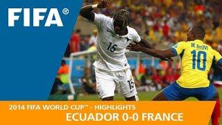 ECUADOR v FRANCE (0:0) - 2014 FIFA World Cup™