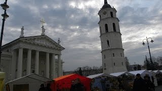 WILNO.Kiermasz Kaziukowy.VILNIUS.Attraction fair 400 years of tradition.