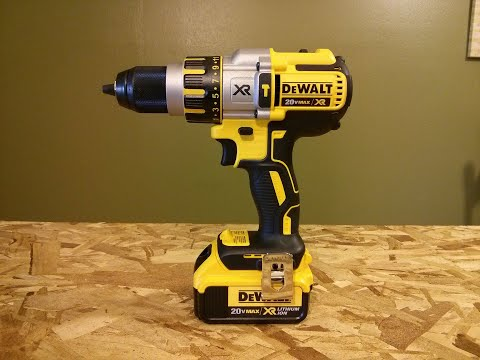 DeWALT 20V Brushless Premium 3 Speed Hammer Drill DCD995M2 Review