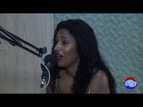 Entrevista com  Fabiolla Paiva & Nick Bryan  na Radio Grande Serra