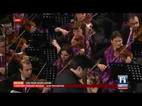 Edvard Mirzoyan Shushanik  24/04 World Symphony Orchestra. Է.Միրզոյան Շուշանիկ