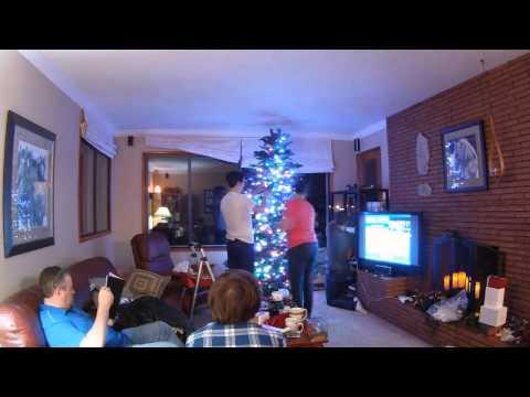 Putting Up The Davis Christmas Tree