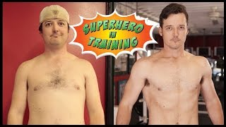 Superhero Workout 10-Week Transformations! - Clint & MysteryGuitarMan
