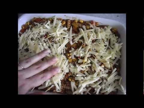 Spicy Jerk pasta bake
