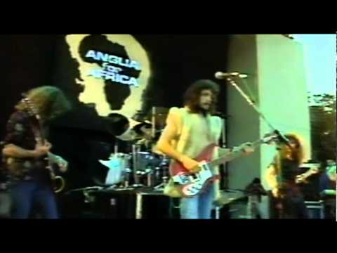 Part 1. Underground Zero live - 'Anglia for Africa', 1986.