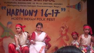 35TH ANNUAL DAY BENGALI  DANCE BY PRIMARY JUBILEE SCHOOL GIRLS