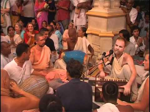 Hare Krsna Kirtan At Sri Vrindavan Dham w/ Aindra Prabhu ep2 Music Videos