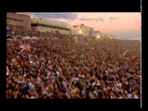 Fatboy Slim live on Brighton Beach