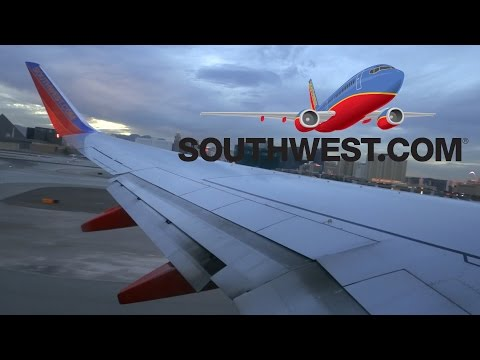 HD Southwest Airlines Boeing 737-8H4 N8326F Takeoff from McCarran International Airport