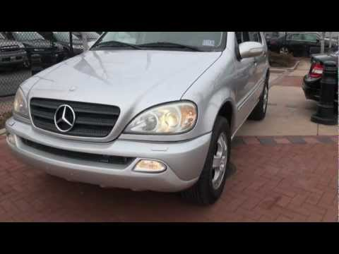 2002 Mercedes-Benz ML320 4Matic