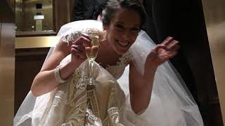 Bride Gets Stuck in Elevator on Wedding Day