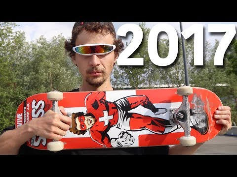 Trendiest Skate Trick 2017 - Jonny Giger