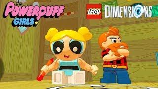 LEGO Dimensions Bubbles Free Roam Gameplay on Powerpuff Girls Adventure World