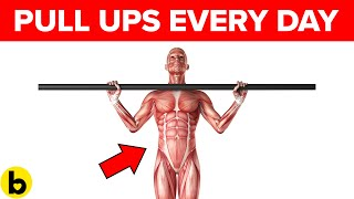Doing Pull-Ups Every Day Would Do This To Your Body