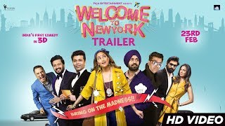 Welcome To New York Trailer  Sonakshi Sinha  Diljit Dosanjh  Karan Johar  23rd Feb
