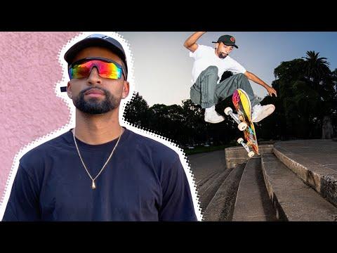 SILKY SMOOTH SKATING: MAURIO MCCOY RAW & UNCUT IN ARGENTINA!   Santa Cruz Skateboards