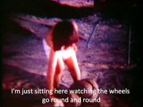 John Lennon - Watching the wheels (Official video with lyrics)