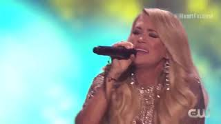 Carrie Underwood Love Wins Iheartradio Festival 2018