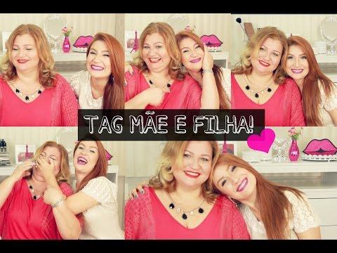 TAG MÃE E FILHA! ♥ Por Bianca e Mônica Andrade!