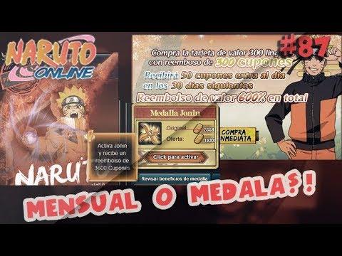 Medalla o Mensual || Que es mejor? Naruto Online NOOB A PRO #87