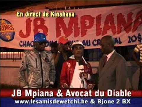 JB MPIANA & Avocat du Diable