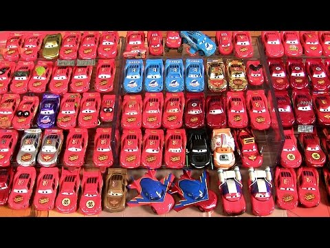 85 Lightning McQueen Complete Diecast Collection Disney Pixar Cars Star Wars Mater's Tall Tales