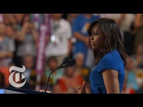 Michelle Obama's Convention Speech   The New York Times