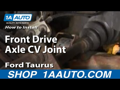 How To Install Replace Front Drive Axle CV Joint Ford Taurus 96-07 1AAuto.com