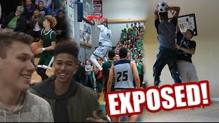 CHINO HILLS & BALL BROTHERS LIVE EXPOSURE! 1v1 MINI HOOP vs JesserTheLazer