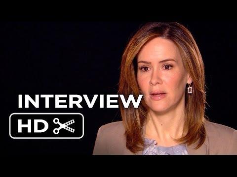 12 Years A Slave Movie Interview - Sarah Paulson (2013) - Steve McQueen Movie HD