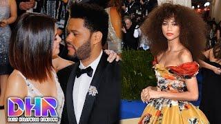 Selena Gomez & The Weeknd's PDA Filled Red Carpet Debut – BEST & WORST Dressed Met Gala 2017 (DHR)
