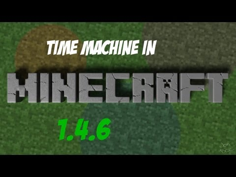 How to make a time machine in minecraft 1.5.1