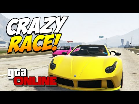 GTA 5 ONLINE PC | CRAZY RACE! #49