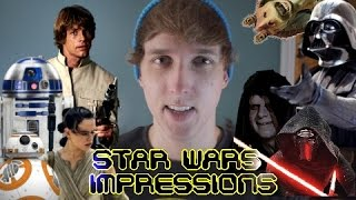 41 Star Wars Impressions (AND PARODY)