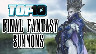 Top 10 Final Fantasy Summons