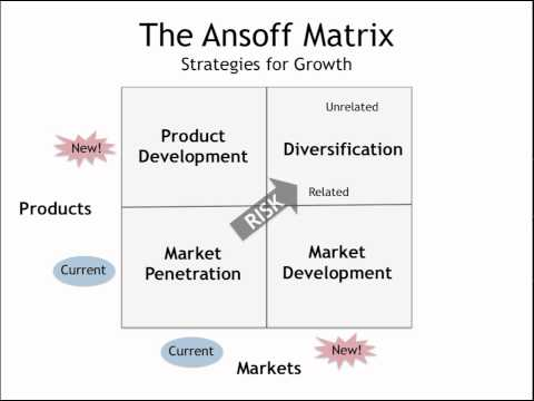 zara ansoff matrix Company zara is one of the biggest international fashion companies, and it belongs to inditex, one of the world's largest distribution groups.