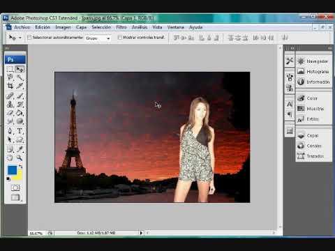 Hacer Fotomontaje con filtro