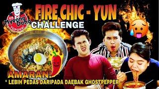 CHALLENGE LEBIH PEDAS, LEBIH MEMBUNUH DARI DAEBAK GHOST PEPPER!! FIRE CHIC-YUN CHALLENGE GONE WRONG!