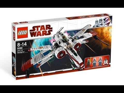 Lego Star Wars - Clone Wars Reviews - 8088 ARC-170 Starfighter Review pt.2