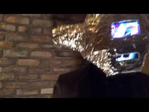 Picture #16 - ... make a Daft Punk helmet from aluminium foil.