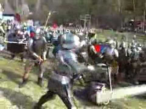 Czech Medieval battle war historical fight Libusin 2007