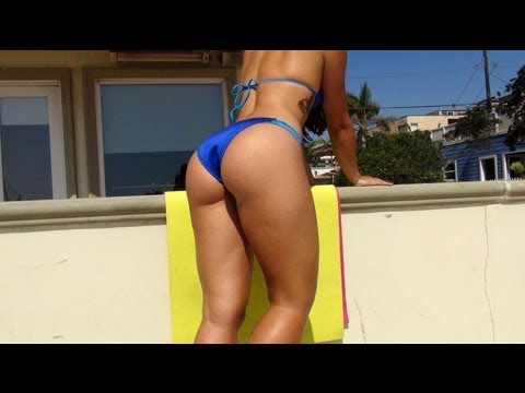 Best Of Brazilian Butt Lift Workout With Sexy Carol S!! Part 1 video