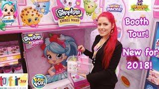 New Moose Toys Toy Fair 2018 Fur Babies, Shopkins, Lil Secrets, Pikmi Pops