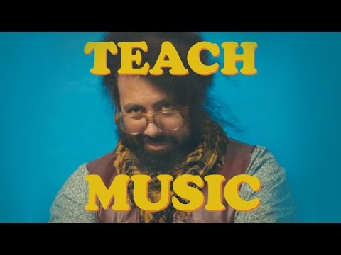 Reggie Watts - TEACH: MUSIC