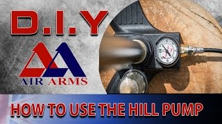 Air Arms D.I.Y: How To Use The Hill Pump