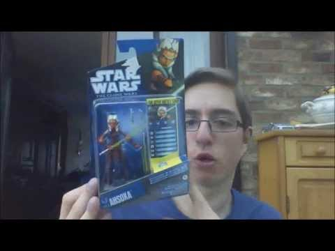 Star Wars The Clone Wars 2010 Season 3 Ahsoka Tano figure review