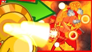 INSANE NEW BOSS BALLOON! BLASTAPOPULOS! - Bloons Tower Defense Monkey City - DESTROY THE BOSS!