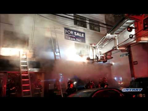 FDNY: 5/2/16  Brooklyn 3 Alarm Fire 2220 Voorhies Ave. fire  in a 3 story