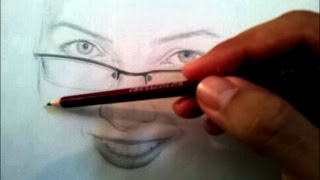 Speed Drawing Portrait pencil