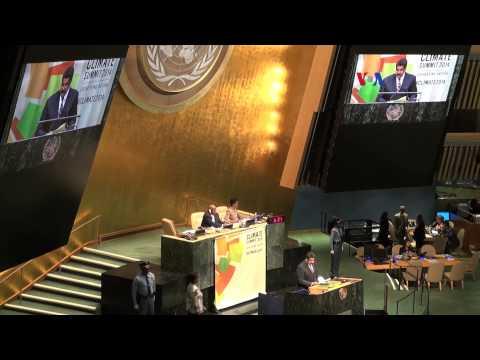 Las primeras palabras de Nicolás Maduro en la ONU